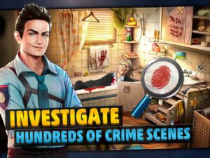 Investigate crime scenes in a grim and corrupt city